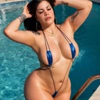 Instagram Model Aims To Break 'World's Smallest Bikini' Record By Posing in Bikini Just 3cm Wide [Photos]