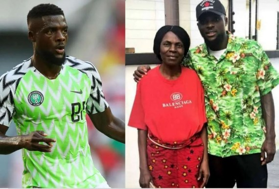 Super Eagles Midfielder John Ogu reveals his mom died after battling with cancer for many years