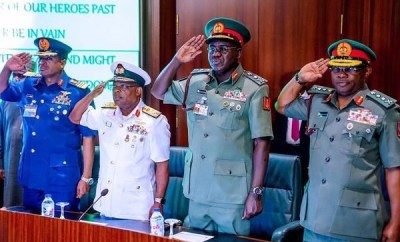 President Buhari nominates immediate past Service Chiefs as Non-Career Ambassadors