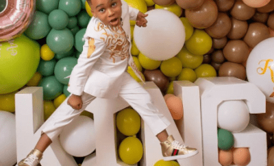 Tonto Dikeh shares lovely new photos of her son, King Andre, as he turns 5