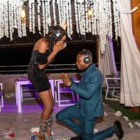 Creative Director of Lights by Pheyt, Faith Olamide Oyejide, set to get married after romantic proposal at Cocktail Party