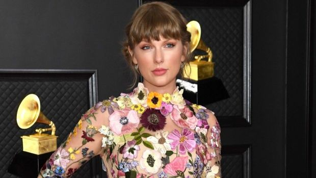 Taylor Swift won album of the year at the 2021 Grammys