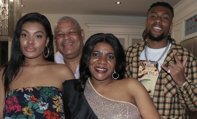Alex Iwobi shares lovely photos with his parents