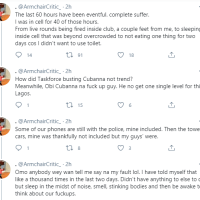 Man Shares His Experience After Being Arrested Alongside Others While Clubbing At Cubana Nightclub