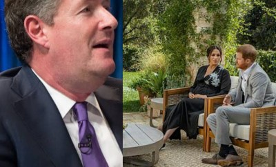 Piers Morgan criticised for comparing Harry and Meghan to Kim Jong-un ahead of Oprah interview