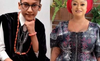 Ronke Oshodi Oke celebrates her son as he turns 8