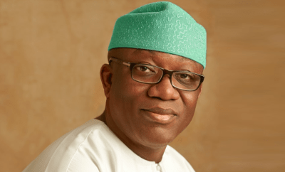 Governor Fayemi pays N507.4m to victims of police brutality and land owners