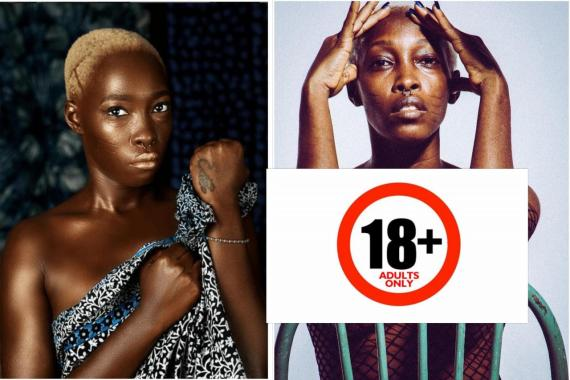 I will rather sell my nudes and videos to survive than beg online - Tribal mark model, Adetutu reacts after being asked why she is now an