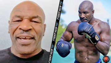 Mike Tyson aged 54?confirms his next fight will be against Evander Holyfield in massive million deal (video)