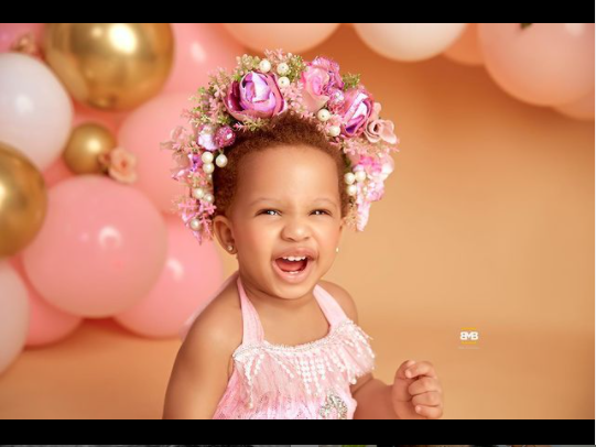 Teddy A and Bam Bam celebrate their daughter Zendaya on her 1st birthday (photos)