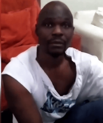 Watch video of actor, Baba Ijesha, begging for forgiveness after comedian Princess caught him while allegedly attempting to molest her foster daughter