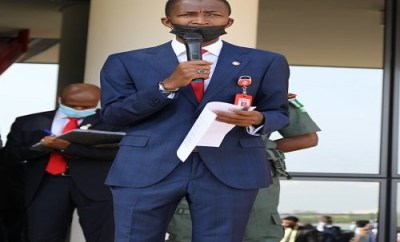 EFCC Chairman and others take oath of secrecy (photos)