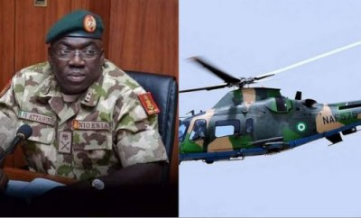 The plane crash which killed the Chief of Army Staff and 10 others occurred after the aircraft landed at Kaduna airport due to bad weather - DHQ