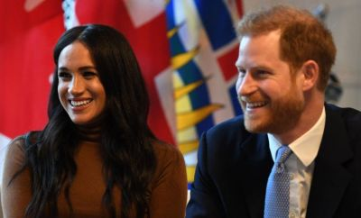 Meghan and Harry (file photo)