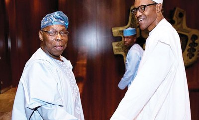Rumour of Buhari being dead and replaced by Jibril from Sudan is ridiculous - Obasanjo