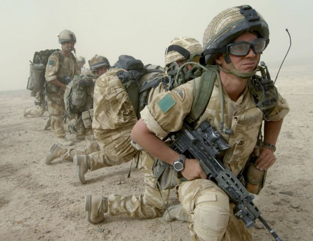 Soldiers of the Parachute Regiment lead the first UK deployment to Helmand