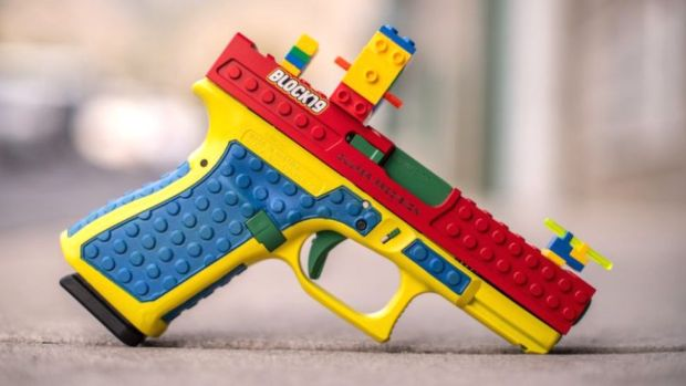 The customised Block19 gun advertised by US manufacturer Culper Precision