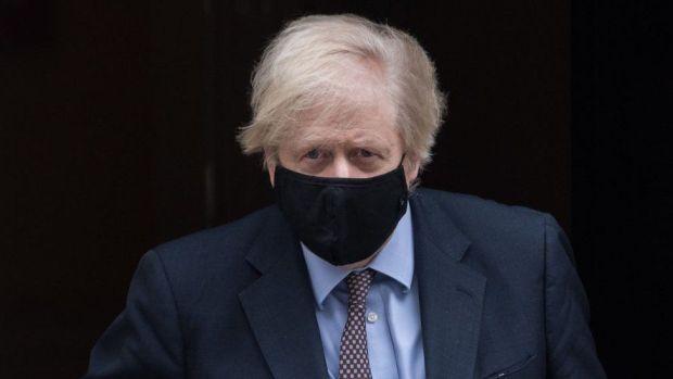 Prime Minister Boris Johnson at Downing Street