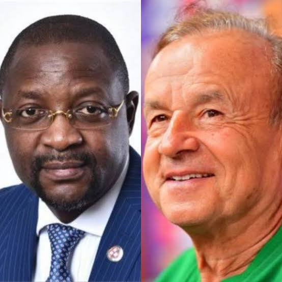 ?Rohr needs to shut up and do the work of his contract?- Sports Minister, Sunday Dare blasts Super Eagles coach