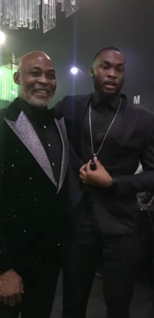 Photos and videos from veteran actor, Richard Mofe-Damijo
