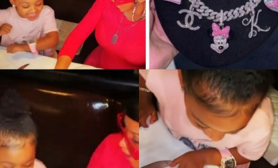 Cardi B reacts to criticisms she and Offset received for giving their daughter expensive jewelry on her 3rd birthday