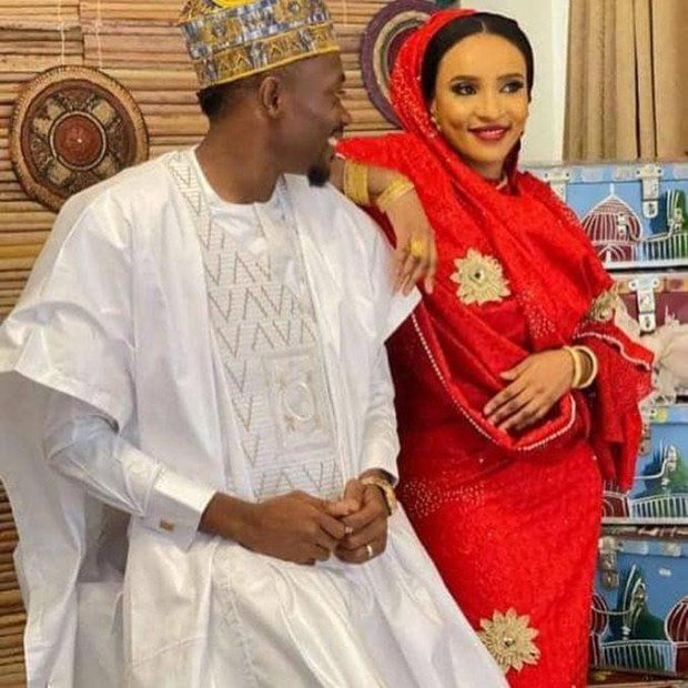 More photos of Ahmed Musa and his new wife, Maryam Jajere
