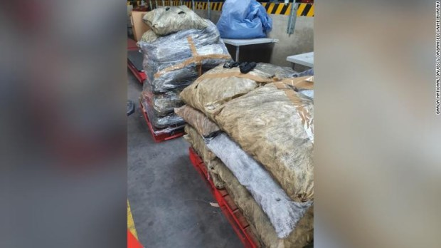 Cocaine disguised as charcoal worth up to  million seized by police (photos)