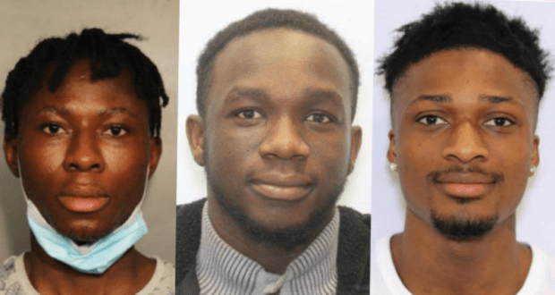 ATM cameras help FBI capture three young Nigerians who stole over .4 million COVID-19 unemployment benefits in the United States