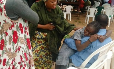 Tears flow as freed 28 students of the Baptist High School Kaduna state reunite with their parents (photos/video)