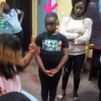 9-Year-Old Girl Identified As The Person Who Set Ebeano Supermarket On Fire [Photo/Video]