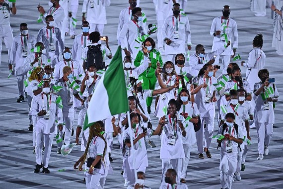 Ten Nigerian athletes banned from participating in Tokyo Olympics