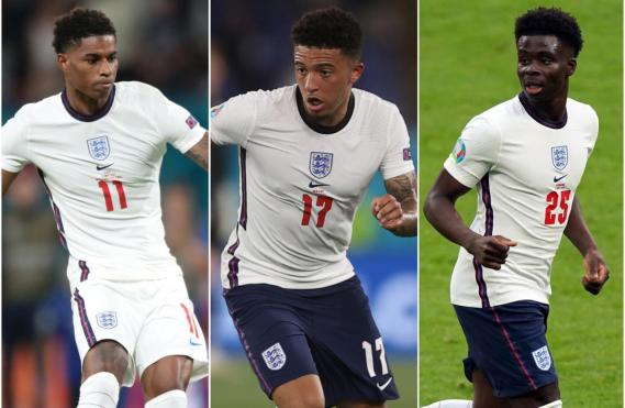 Portsmouth Football Club sack three players for racist messages about Marcus Rashford, Bukayo Saka and Jadon Sancho after Euro 2020 final