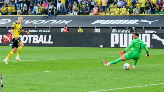Erling Braut Haaland, Borussia Dortmund, Eintracht Frankfurt