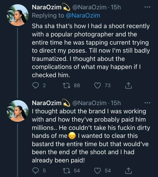 Photographer threatens lawsuit after a model accused him of
