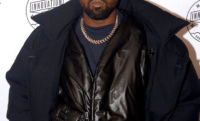 Kanye West recreating his childhood home inside stadium for Donda listening party (photos)