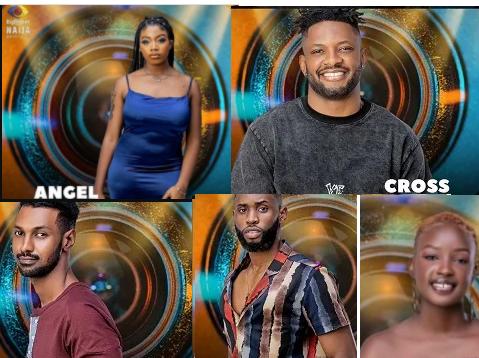 #BBNaija: Cross, Saskay, Angel,Yousef and Emmanuel?up for eviction as Whitemoney wins Head of House challenge
