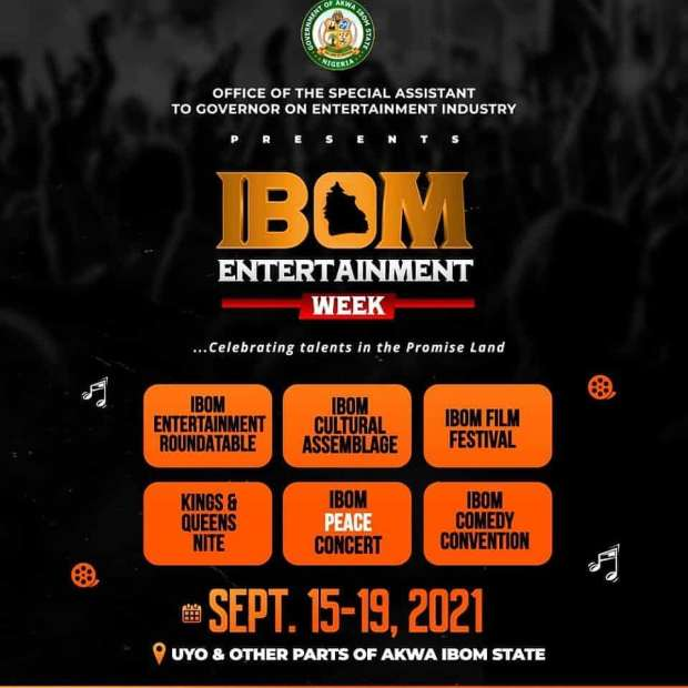 Schedule For Ibom Entertainment Week.