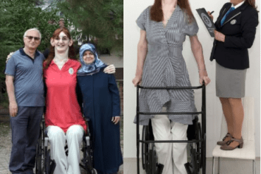 Guinness World Records crowns 24-year-old woman over 7ft as