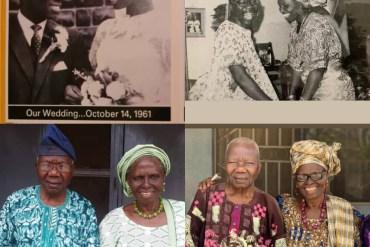 Nigerian couple celebrate 60th wedding anniversary