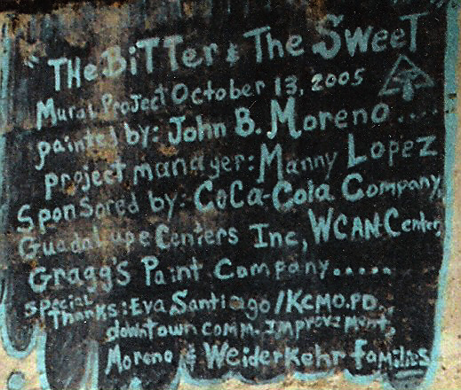 The Bitter & The Sweet credits