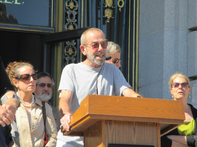 ... and so did Ted Gullicksen of the Tenants Union.