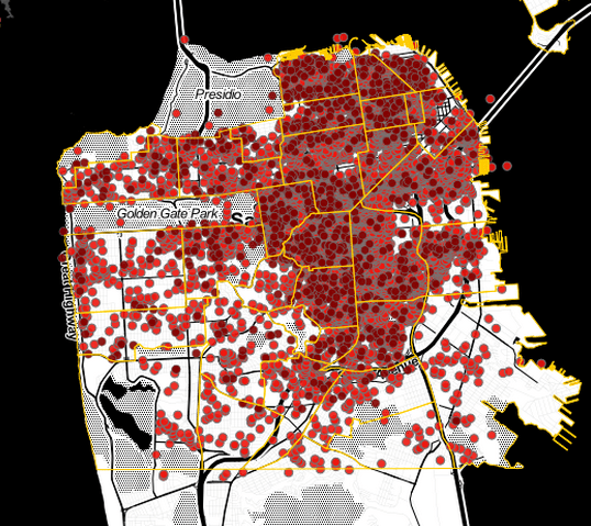 More than 90 percent of these Airbnb listings are illegal