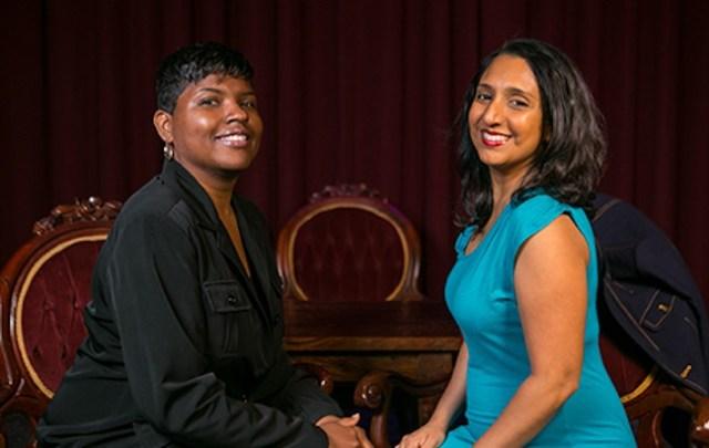 Send in the (diverse) clowns! Karinda Dobbins and Dhaya Lakshminarayanan's show will have you rolling.