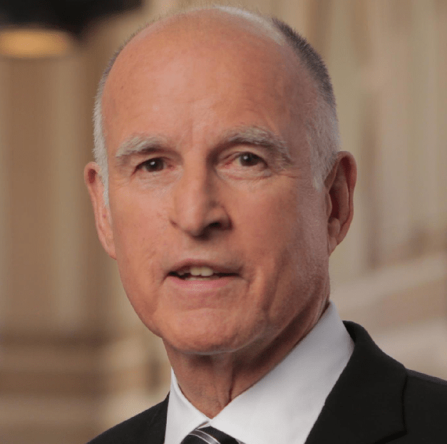 Jerry Brown is not prepared to help fight Trumpism