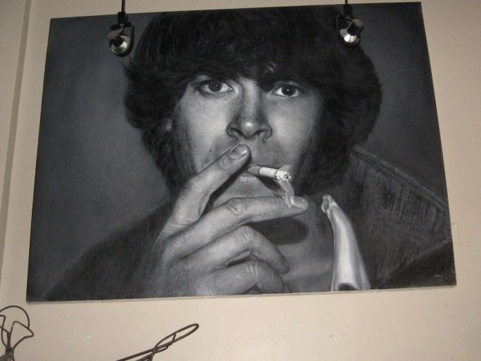 A painting at DaDa Art Bar