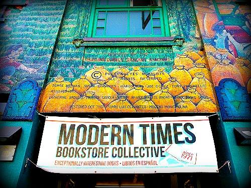 "A photo of the Modern Times facade, posted by the ""Preserving LGBT Historic Sites in California"" Facebook group."