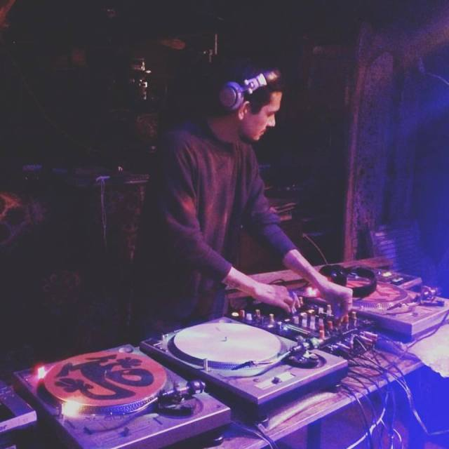 Amanda Allen's last posted picture on Facebook was of Johnny Igaz, aka DJ Nackt, spinning at Ghost Ship.