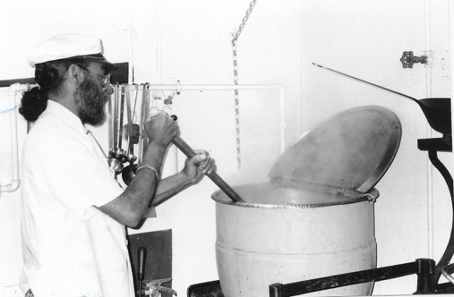 Pubill cooks for sailors as the O'Brien steams to Normandy for a 50th Anniversary  D-Day event