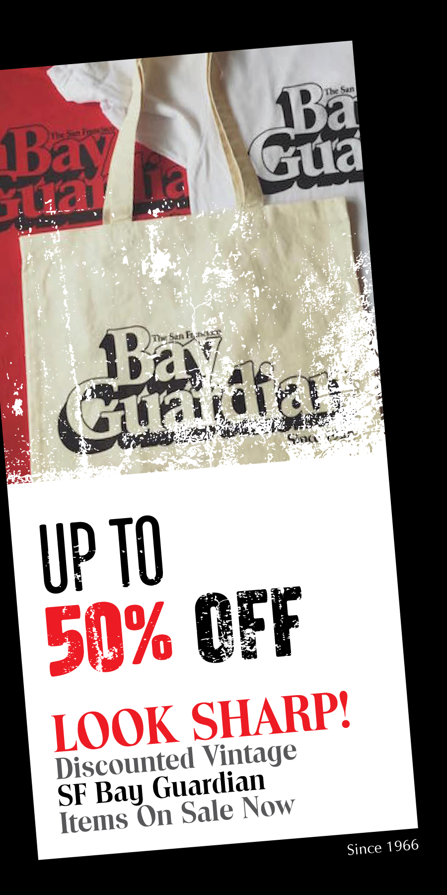 Bay Guardian End of Winter Sale