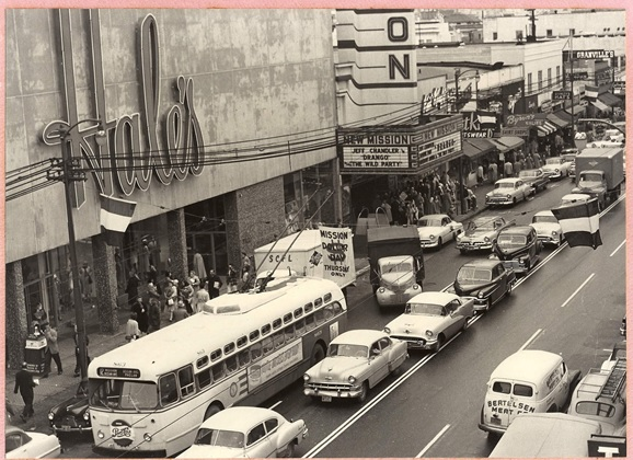 Mission Street, 1957